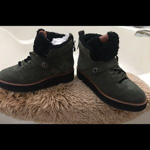 Coach hiker boots
